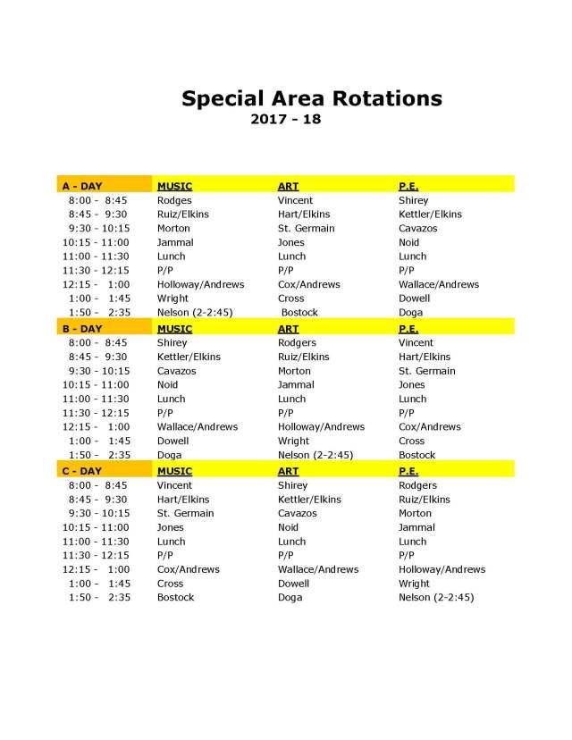 SpecialAreaRotations2017-18
